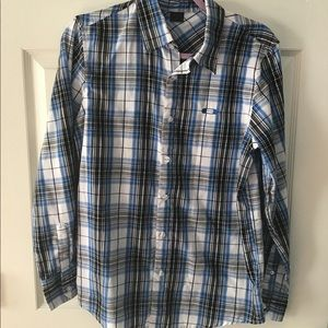 OAKLEY casual button up LS striped shirt